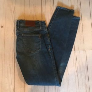 Madewell medium wash skinny jeans SZ 27